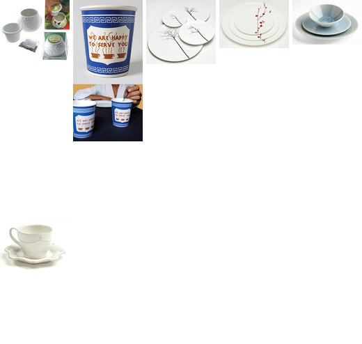 Dinnerware etc
