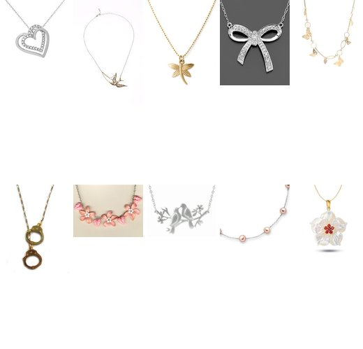 random nice necklaces
