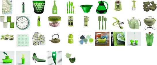 Green Kitchen Goodies
