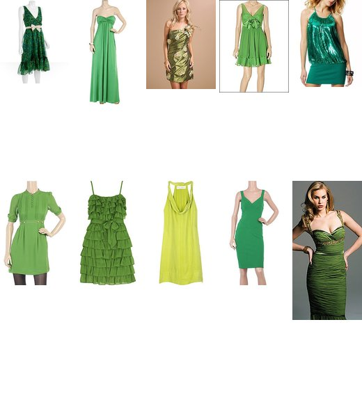 Top Ten Favorite Green Dresses