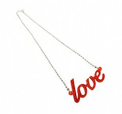 Glitterati: Love Necklace
