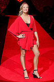 New York Fashion Week, Fall 2009: Heart Truth Red Dress Collection