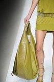 Ferragamo's Oversize Chartreuse Bag