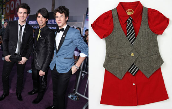 Fab Flash: The Jonas Brothers Clothing Collection