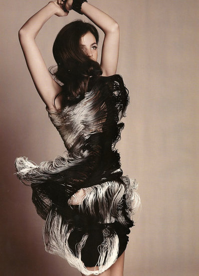 Girls on Film: Julia Restoin Roitfeld, Harper's Bazaar UK, April '09