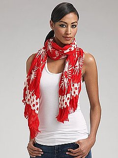 Fab Celebrates Spring With Saks: Win This Funky Juicy Couture Scarf!