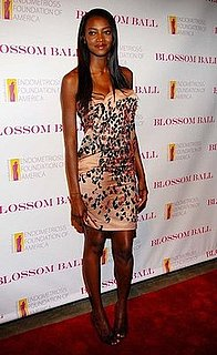 Model Oluchi Onweagba Attends First Annual Blossom Ball in Sequined Lanvin