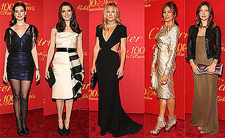 Anne Hathaway, Kate Hudson, Eva Mendes, Demi Moore, and Rachel Weisz at Cartier 100 Party
