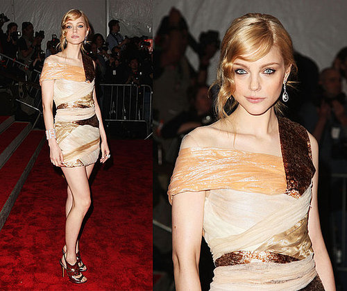 The Met's Costume Institute Gala: Jessica Stam