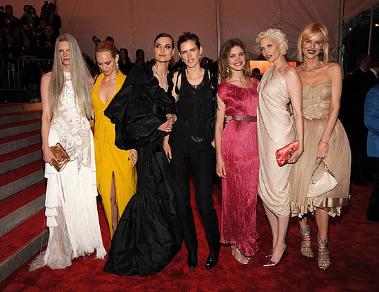 Model Mania at Met's Costume Institute Gala!