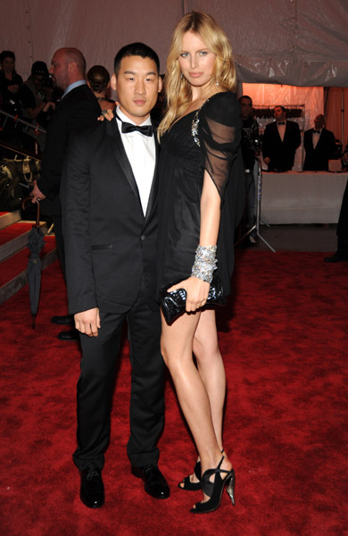 Richard Chai and Karolina Kurkova