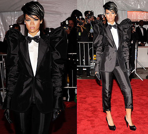 The Met's Costume Institute Gala: Rihanna