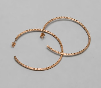 Gorjana Rose Gold Hoops