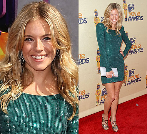 Photo of Sienna Miller at 2009 MTV Movie Awards
