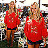 The Hills Star Kristin Cavallari in a Red Peasant Top and Shorts at A Time For Heroes Celebrity Carnival in LA