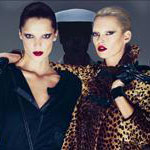 Fab Ad: Kate Moss and Daria Werbowy for Longchamp