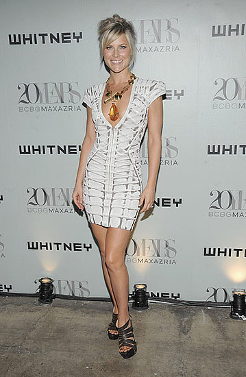 Ali Larter in Herve Leger by Max Azria