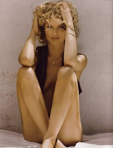 Eva Herzigova - Vogue Spain August 2009