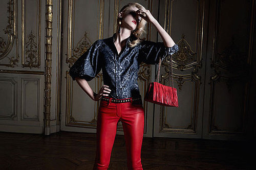 Angela Lindvall - Trussardi 1911 Accessories Fall 2009