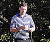 Photo of Justin Timberlake Playing Golf in LA
