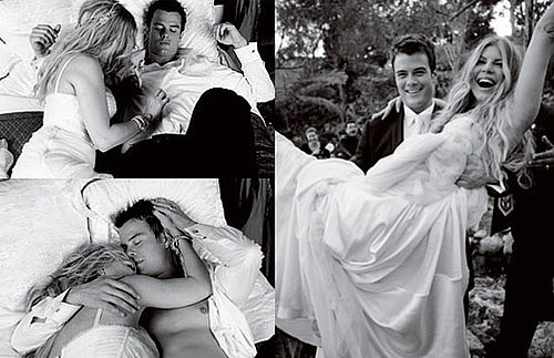 Photos of Fergie and Josh Duhamel on Their Wedding Night