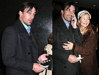 Photos of Jon Hamm Heading Into Late Night With Conan O'Brien