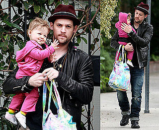 Photos of Harlow Madden and Joel Madden in LA