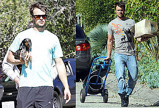 Photos of Josh Duhamel Gardening in LA