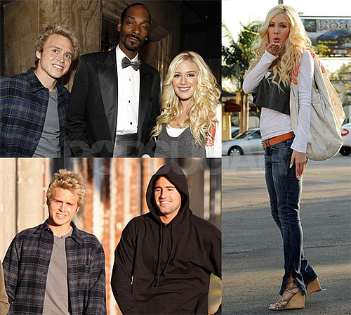 Photos of Heidi Montag and Spencer Pratt at Snoop Dogg's Show, Heidi Getting Heart Manicured Nails, Spencer with Brody Jenner