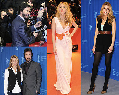 Photos of Blake Lively, Robin Wright Penn, Keanu Reeves at 2009 Berlin Film Festival