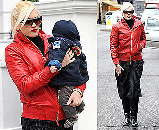 Photos of Gwen Stefani and Zuma Rossdale in London