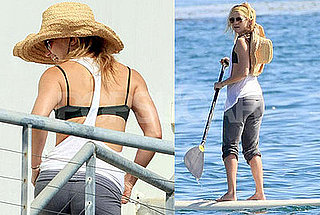 Kate Hudson Hits the Water Dressed For Her Workout