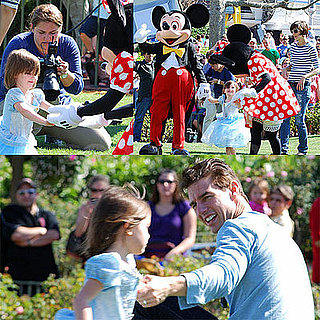Photos of Suri Cruise Dressed as Cinderella With Tom Cruise and Katie Holmes at Disney World