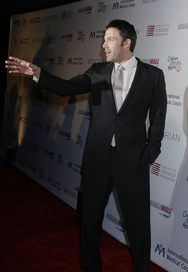 Ben Affleck at the Children Mending Hearts Gala