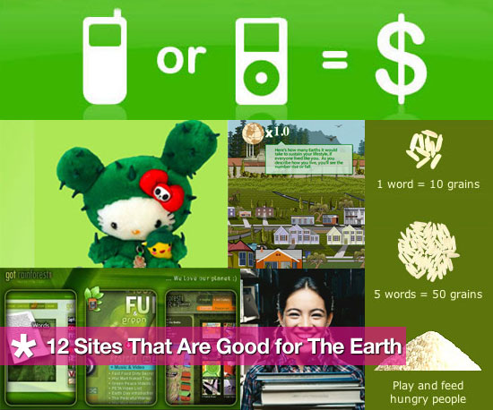 12 Websites To A Greener Planet