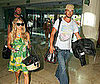 Photo of Fergie and Josh Duhamel at the Cancun Airport