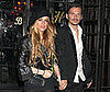 Photos of Lindsay Lohan and Matthew Williamson Out in NYC During Fashion Week