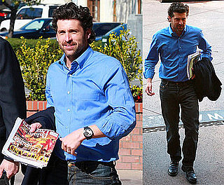 Photos of Patrick Dempsey in LA 2009-02-20 15:30:28