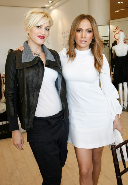 J Lo and Leah Remini