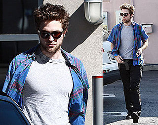 Pattinson Running Errands