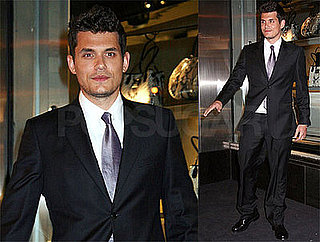 Exclusive Interview with John Mayer Talking About His Grammy Wins, Photos of Him Outside Armani Party