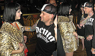 Photos of Katy Perry and Benji Madden Flirting at Wasted Space in Las Vegas