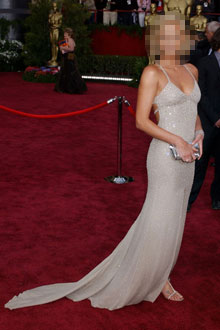 Guess the Girl in the Oscar Gown!