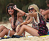 Photo of Stephanie Pratt and Audrina Patridge Wearing Bikinis in Hawaii
