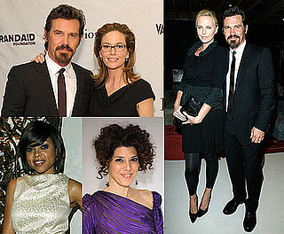 Photos of Diane Lane, Josh Brolin, Charlize Theron at the BRANDAID Launch