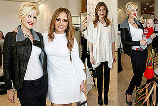 Photos of Jennifer Lopez and Gwen Stefani at the Launch of Andrea Lieberman's Collection at Barneys in LA