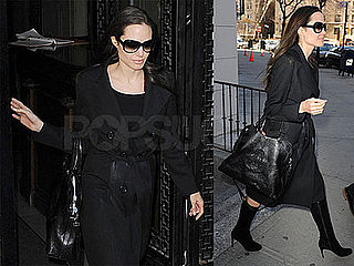 Angelina Scopes Out Upper West Side Apartments