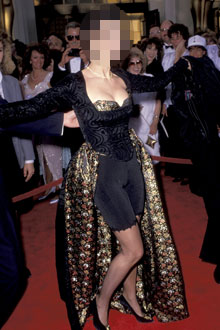 Guess Who Wore the Memorable (Not In a Good Way) Oscar Dress?