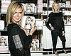 Photos of Heidi Klum at Victoria's Secret in New York City