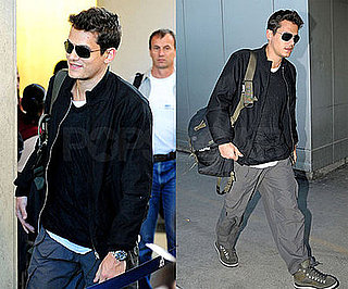John Mayer Arrives in LA in Time For Any Oscar Preparation